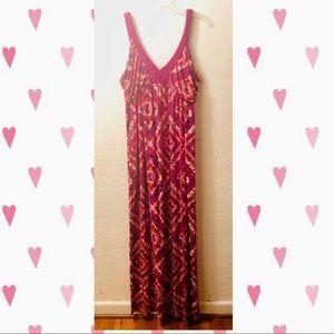 💕 Design History tie-dye Maxi dress XXL so soft!